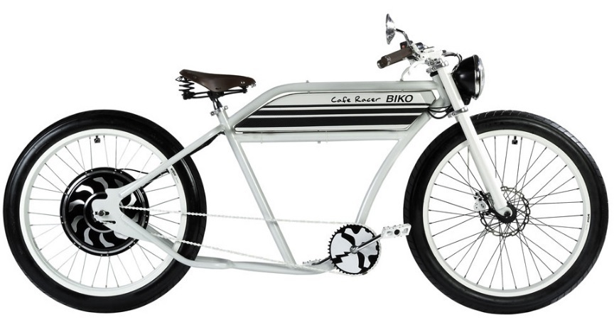v lo lectrique biko bike n011 white tucano. Black Bedroom Furniture Sets. Home Design Ideas
